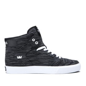 Supra Womens VAIDER Multi/Black/white High Top Shoes | CA-55923